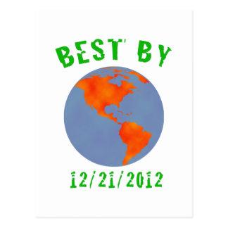 Tierra: El mejor en 2012 Postal