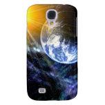 Tierra en caso de la galaxia S4 de Samsung del esp