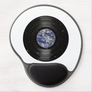 Tierra en el expediente de LP del vinilo del Alfombrilla De Raton Con Gel
