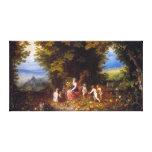 Tierra, en enero Brueghel la anciano Lona Estirada Galerias