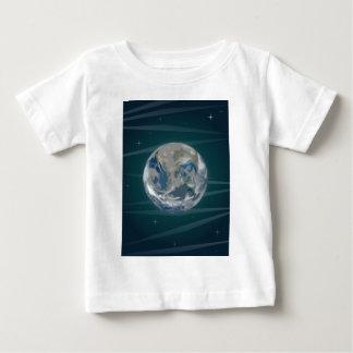 Tierra en espacio playera