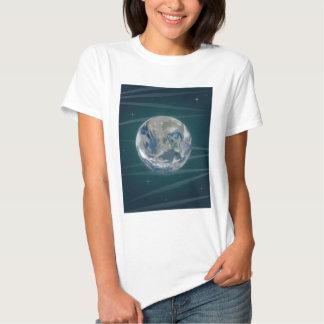Tierra en espacio poleras