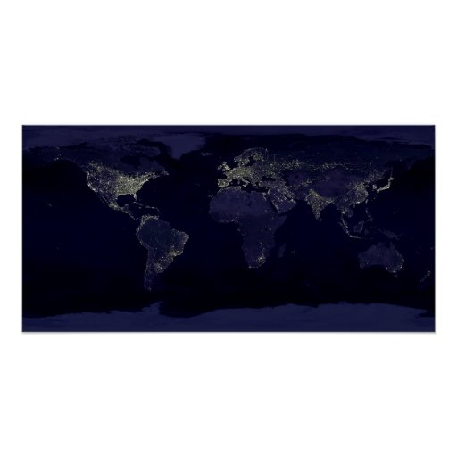 Tierra en la noche poster
