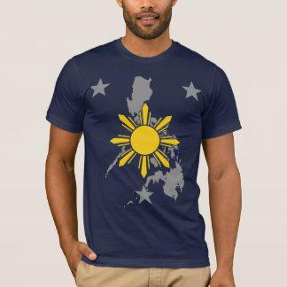 Tierra filipina de la estrella de Sun Playera