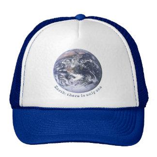 Tierra Hay solamente uno Gorras De Camionero