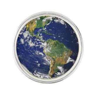 Tierra hermosa del planeta insignia