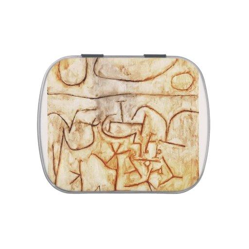Tierra histórica de Paul Klee- Frascos De Dulces