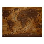 Tierra-Inversed del planeta Tarjetas Postales