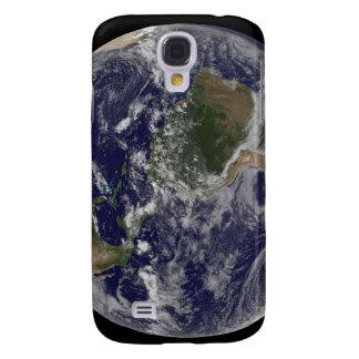 Tierra llena que muestra Norteamérica y Amer del Carcasa Para Galaxy S4