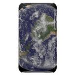 Tierra llena que muestra Norteamérica y Amer del Cubierta Para iPod De Barely There