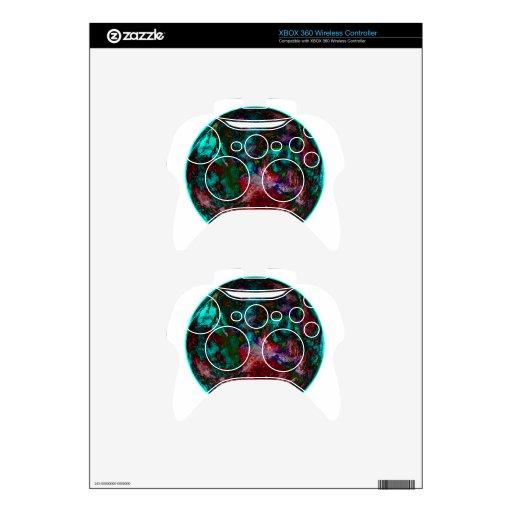 Tierra Luna Mando Xbox 360 Calcomanía
