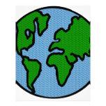 Tierra Membrete A Diseño
