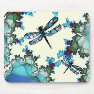 Tierra Mousepad de la libélula