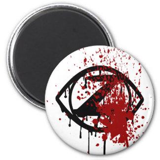 Tierra Necro: Imán del ojo del zombi redondo