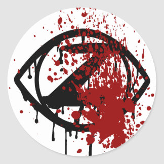 Tierra Necro: Pegatina del ojo del zombi