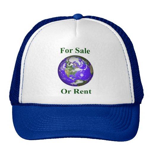 Tierra para la venta o el alquiler gorras de camionero