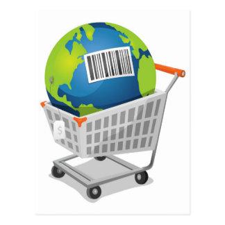 Tierra para la venta postal