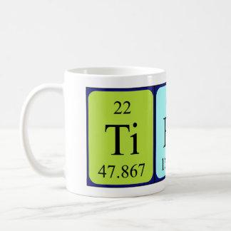 Tierra periodic table name mug