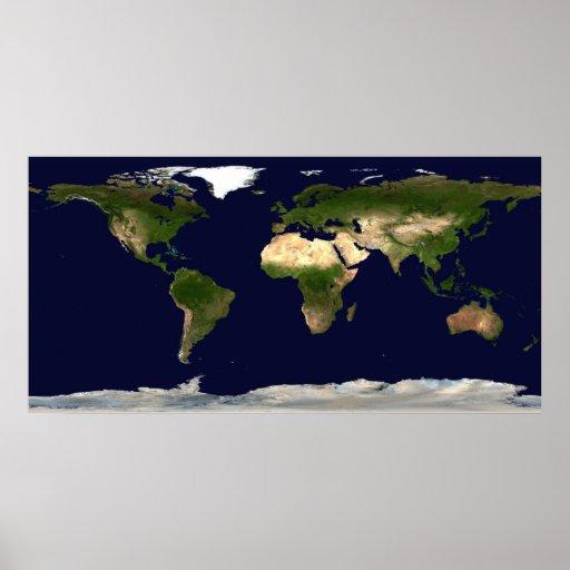 Tierra por día póster