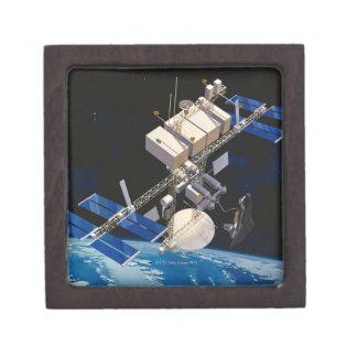 Tierra que está en órbita 10 de la estación espaci cajas de joyas de calidad