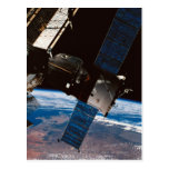 Tierra que está en órbita 6 de la estación espacia postal