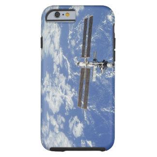 Tierra que está en órbita internacional de la funda de iPhone 6 tough