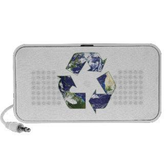 Tierra - reciclando iPod altavoces