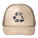 Tierra - reciclando gorras de camionero
