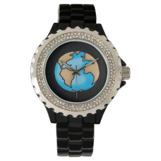 tierra relojes de pulsera