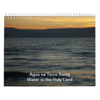 Tierra Santa del na de Água - riegue en la Tierra Calendarios