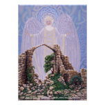 Tierra santa, por Darlene P. Coltrain Posters