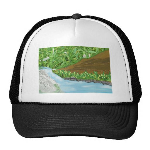 tierra sin tocar gorras de camionero