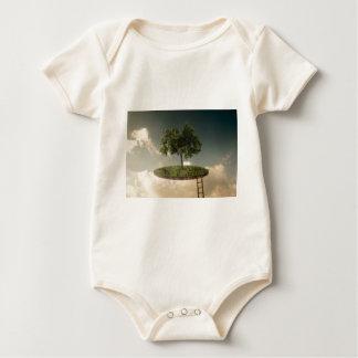 Tierra suspendida mameluco de bebé