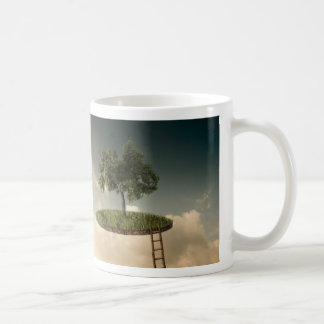 Tierra suspendida taza