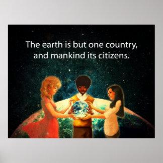 Tierra un país posters