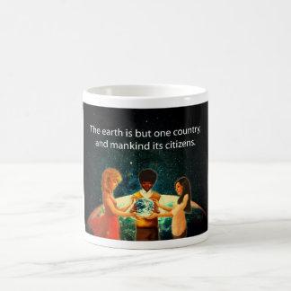 Tierra un país taza de café
