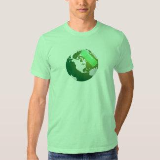 Tierra verde de Bandaided Remera