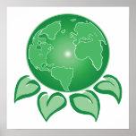 Tierra verde impresiones