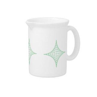 Tierra (verde) jarra de beber