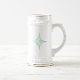 Tierra (verde) jarra de cerveza