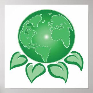 Tierra verde póster