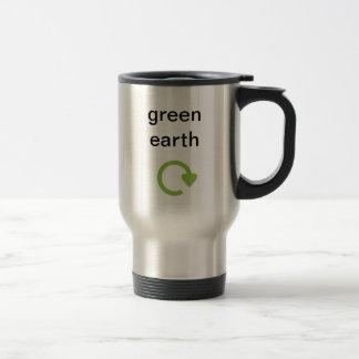Tierra verde tazas