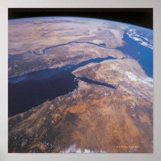 Tierra vista del espacio 2 impresiones