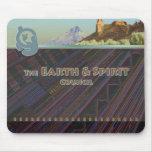 Tierra y alcohol II Mousepad Tapetes De Raton