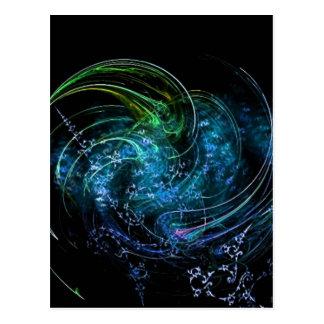Tierra y cielo tarjetas postales