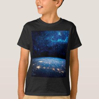 Tierra y galaxia playera