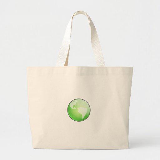 Tierra y hoja bolsa