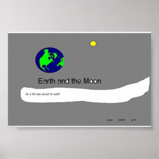 Tierra y luna #5 posters