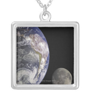Tierra y luna grimpola