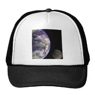 Tierra y luna de Galileo Gorro